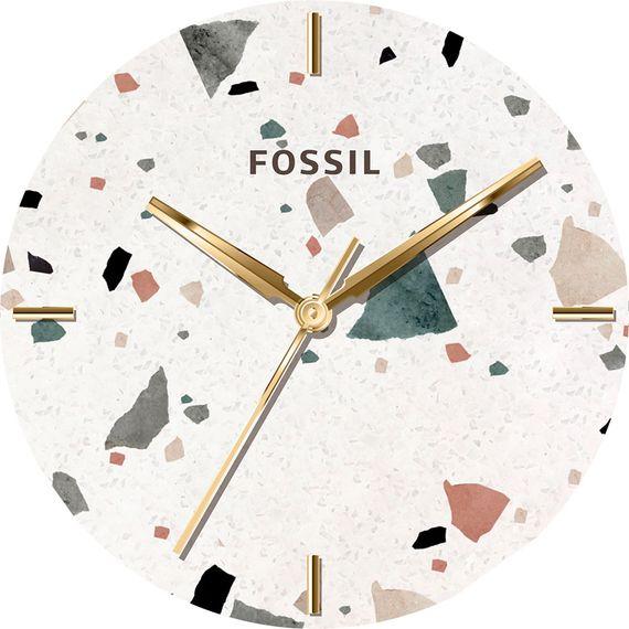 Mandy Moore's terrazzo watch dial design.