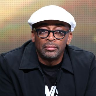 Director Spike Lee speaks onstage during the