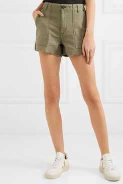 Rag & Bone Frayed Cotton Shorts