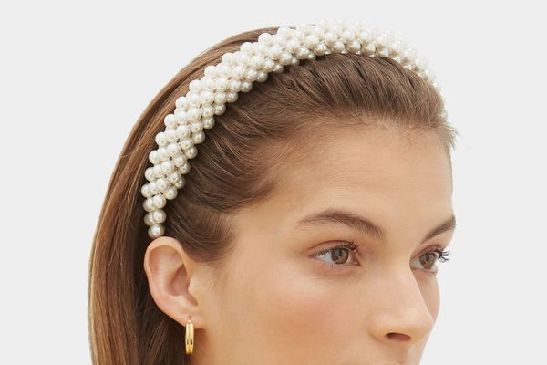 Shrimps Antonia Faux-Pearl Headband