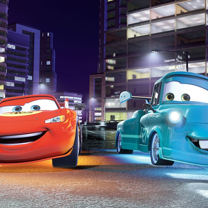 Movie Review With Cars 2 Pixar Finally Whiffs Movie Review Vulture