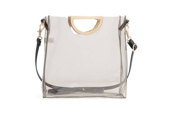BP. Mini Translucent Metal Handle Bag