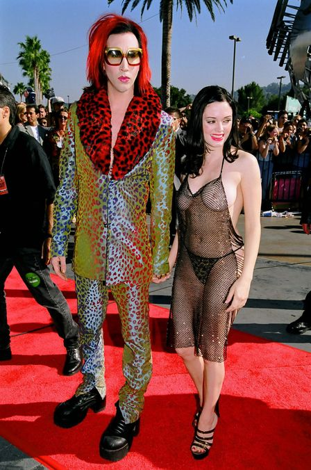 Photo 50 from Rose McGowan's Nonexistent String Dress