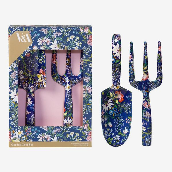 V&A Fork and Trowel Gardening Set