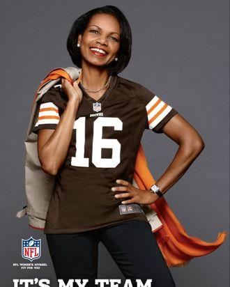 Condoleezza rice dating football player
