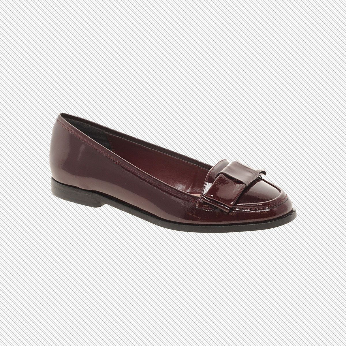 Dune Landimore Bow Patent Loafers