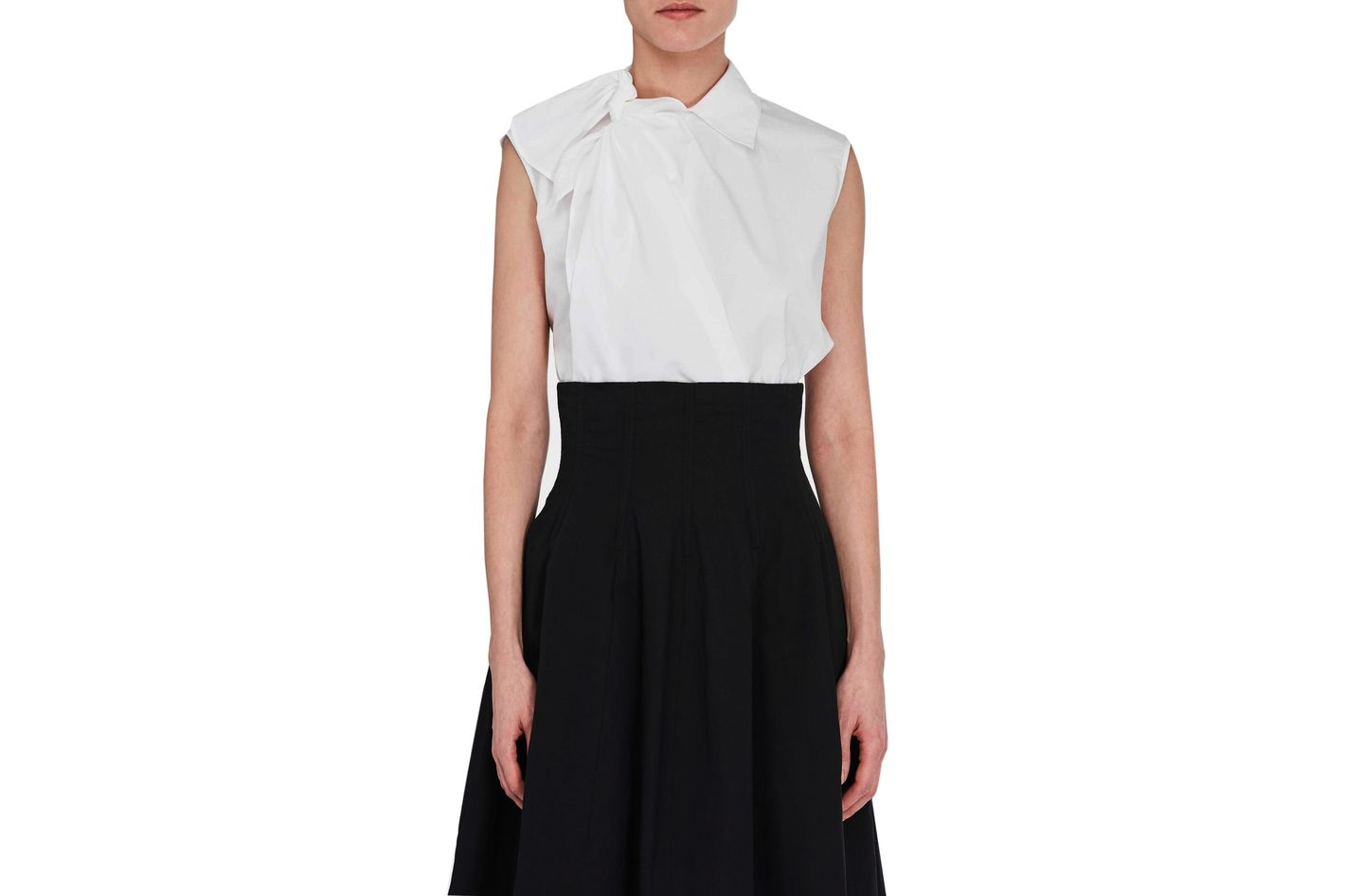 MM6 Maison Margiela Shoulder Tie Shirt