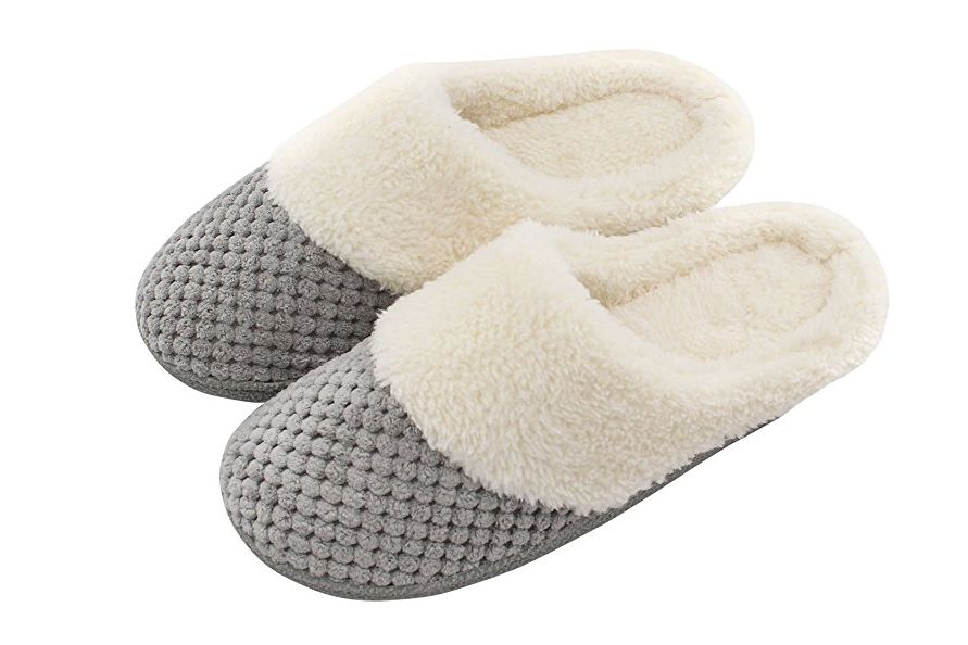 Women's Soft Slip-on Memory Foam Slippers