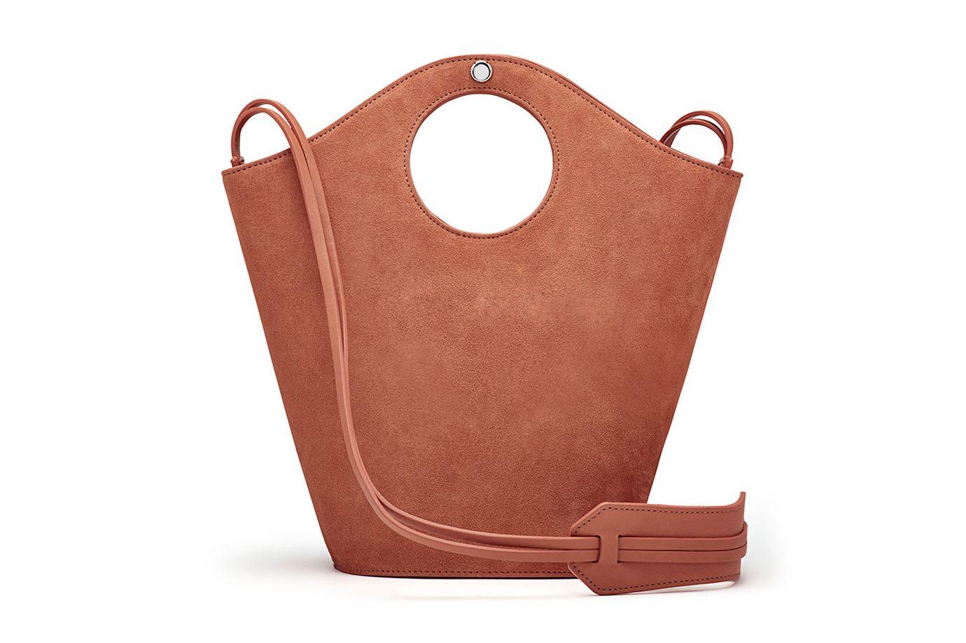 Elizabeth and James Market Small Suede Shopper Tote Bag