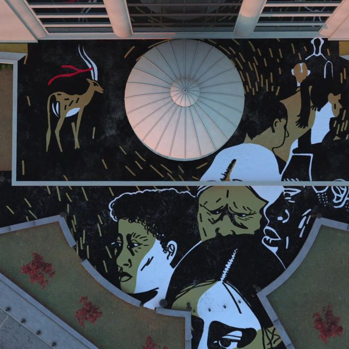 Episode art from Serial's third season.