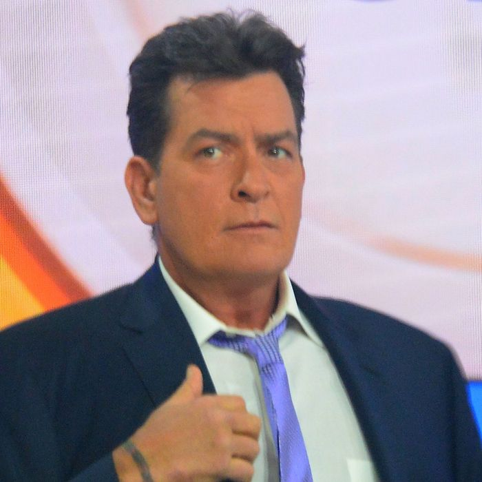 Charlie Sheen Makes A Revealing Personal Announcement On NBC's TODAY Show