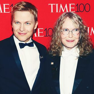 Ronan and Mia Farrow.