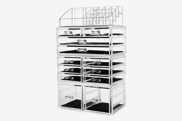 hblife Makeup Organizer with 12 drawers