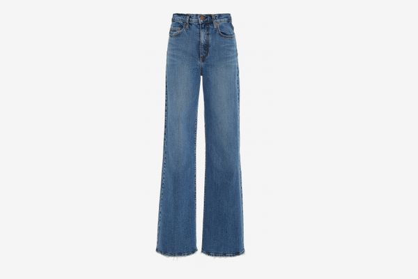 Nobody Denim Milla High-Rise Flared Jeans