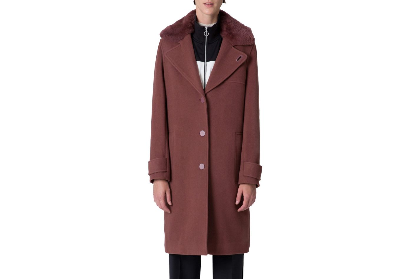 Nora Modular Wool Coat