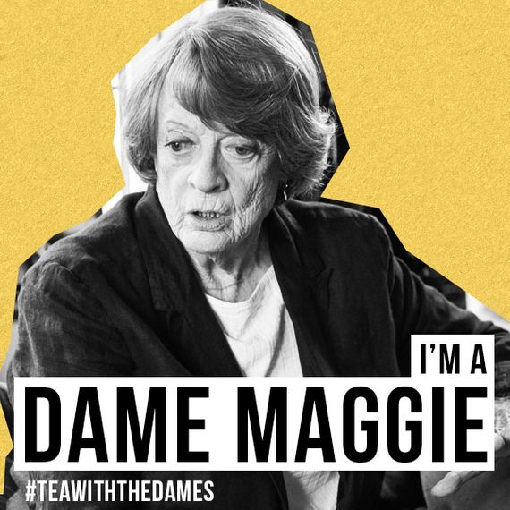 Maggie Smith in Tea With The Dames