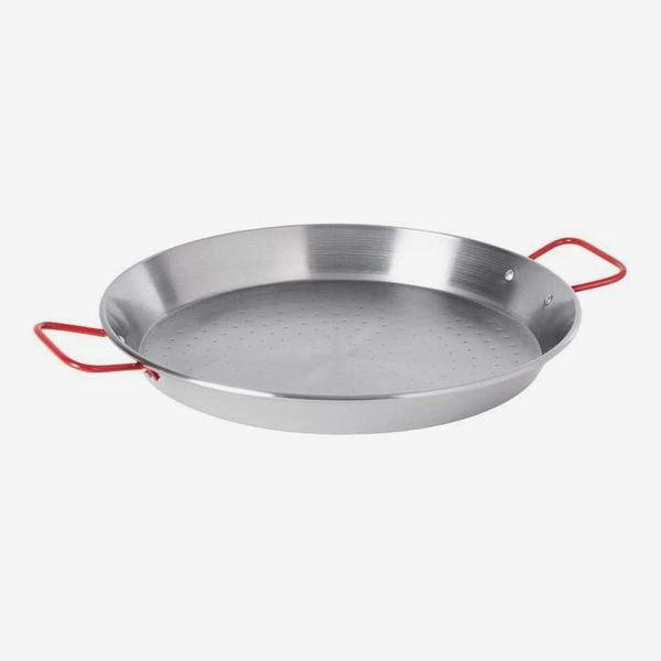 Garcima 14-inch Carbon Steel Paella Pan