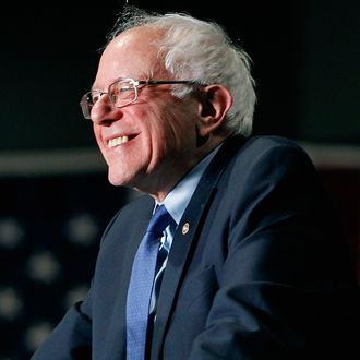 Presidential Candidate Bernie Sanders Holds Primary Night Rally In Phoenix, Arizona
