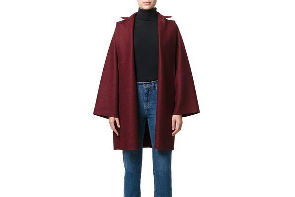 Harris Wharf London Oversized Single Breasted Coat