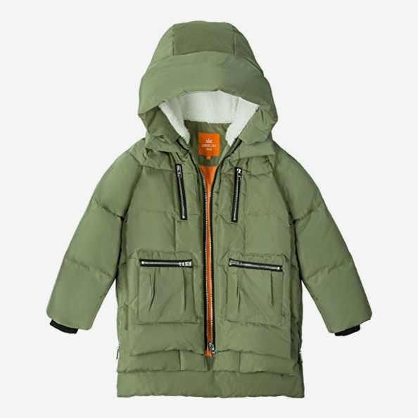 Orolay Girls' Hooded Down Coat Quilted Puffer Jacket