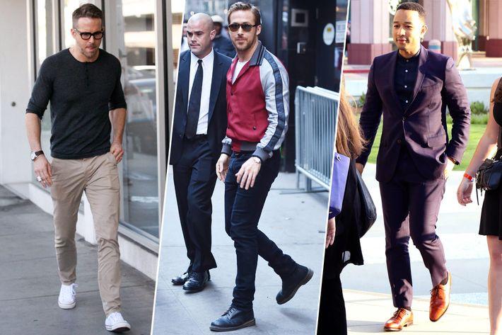 Ryan Reynolds, Ryan Gosling, John Legend.