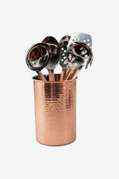 Cambridge Stainless Steel 6-Pc. Hammered Finish Kitchen Utensils