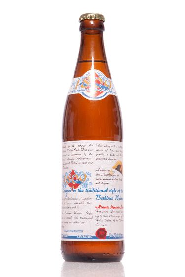 "Professor Fritz Briem (Germany)<br>$9.25 for 16.9 oz. <br><strong>Type:</strong> Weissbier<br><strong>Tasting notes:</strong> ""Based on a historical recipe, this is a Weissbier that develops its tart character from a lactic fermentation that occurs before it is brewed.""<br>—Matt Barclay, cellar manager, Bierkraft<br>  <br>"