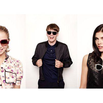 Annabelle Dexter-Jones, Tom Guinness, and Emily Weiss model for Louis Vuitton.