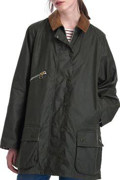 Barbour x ALEXACHUNG Edith Weatherproof Waxed Cotton Jacket
