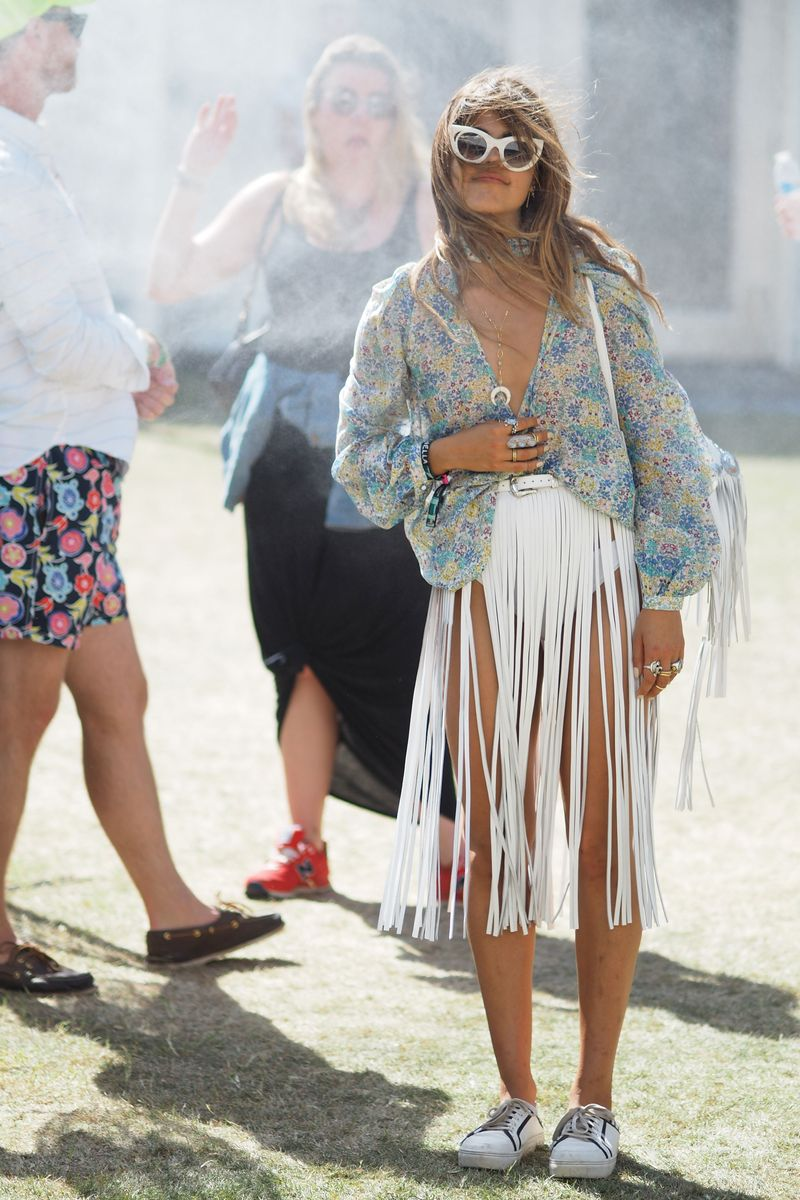 Mimi Elashiry Model Coachella Street Style The Cut