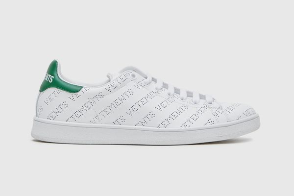 Vetements Perforated Leather Sneakers
