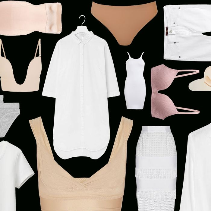 A Guide For What To Wear Under White Clothing