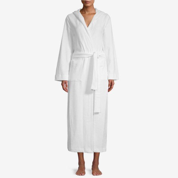 Hanro Terry Long Hooded Robe