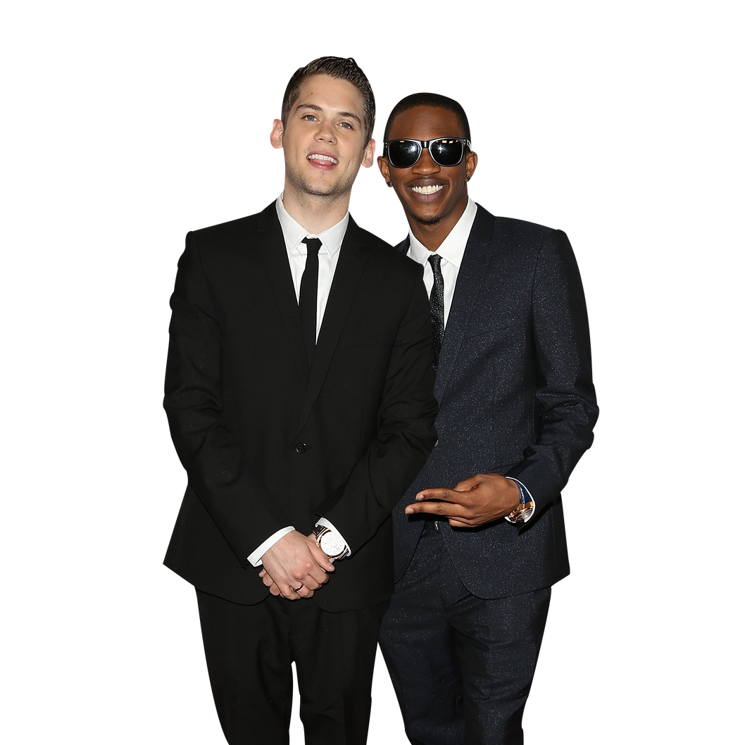 MELBOURNE, AUSTRALIA - APRIL 27:  Malcolm Kelley and Tony Oller from MKTO arrive at the 2014 Logie Awards at Crown Palladium on April 27, 2014 in Melbourne, Australia.  (Photo by Graham Denholm/WireImage)