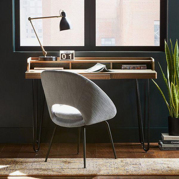 Rivet Modern Upholstered Orb Office Chair