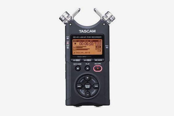 Tascam DR-40 4-Track Portable Digital Audio Recorder
