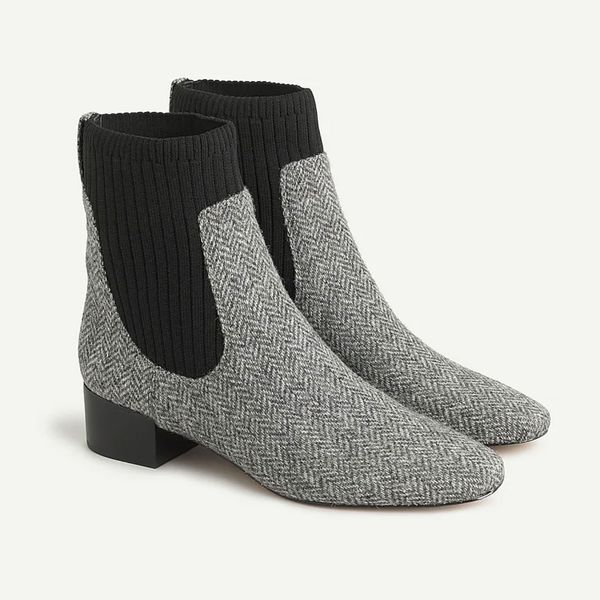 J.Crew Ribbed Chelsea Boots