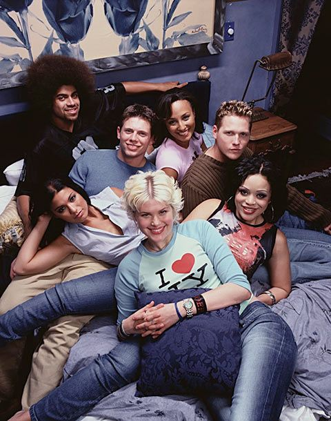 "06 Jul 2001 --- Cast of ""Real World New York"" --- Image by ? Len Irish/Corbis"