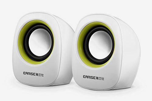 Earise AL-101 3.5mm Mini Computer Speakers