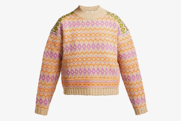 Acne Studios Faire Isle Wool Sweater