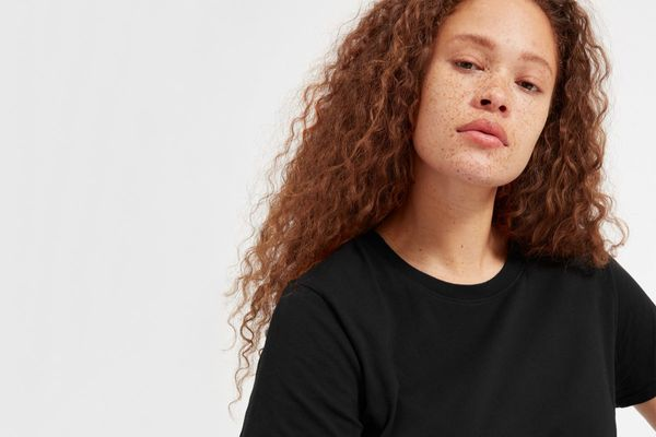 Everlane Cotton Box-Cut Tee