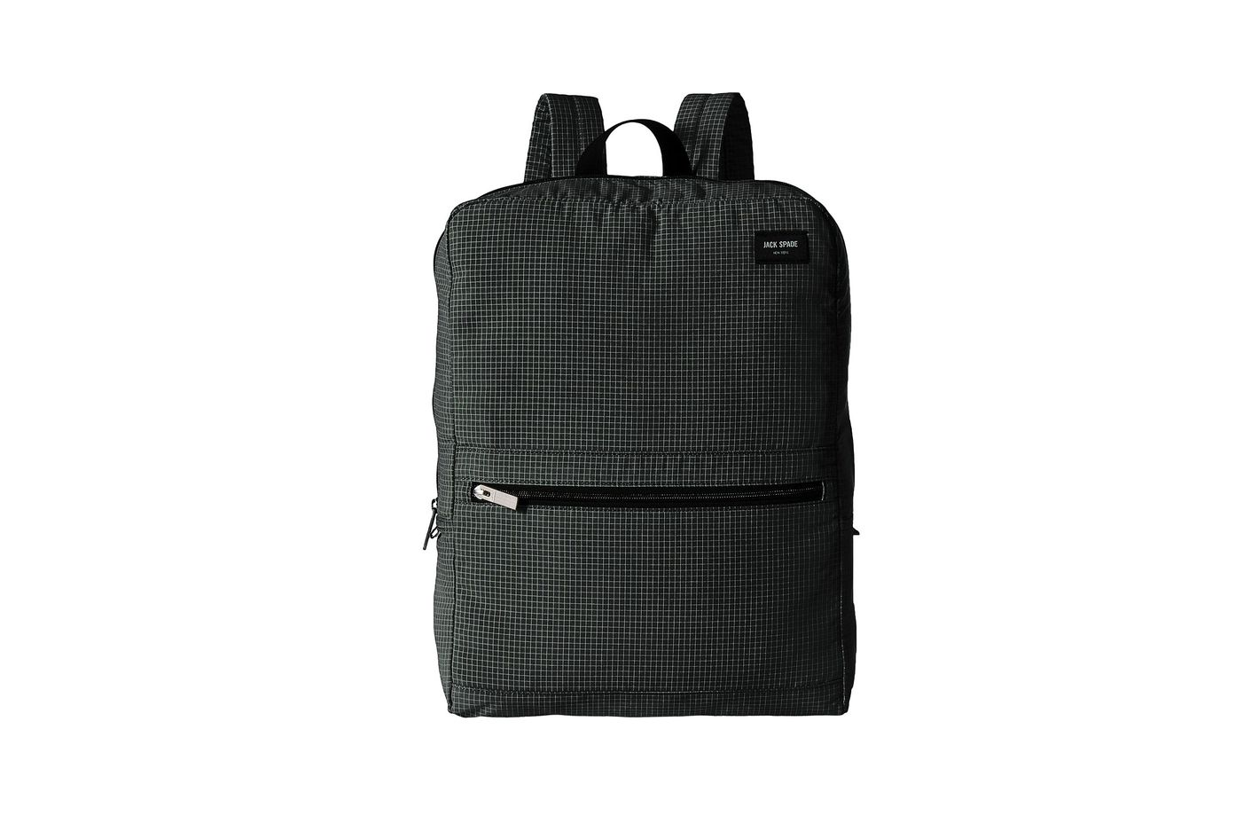 Jack Spade Packable Graphic Check Backpack
