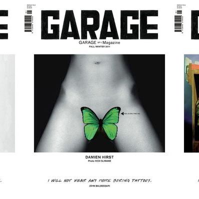 <em>Garage</em>'s three debut covers.