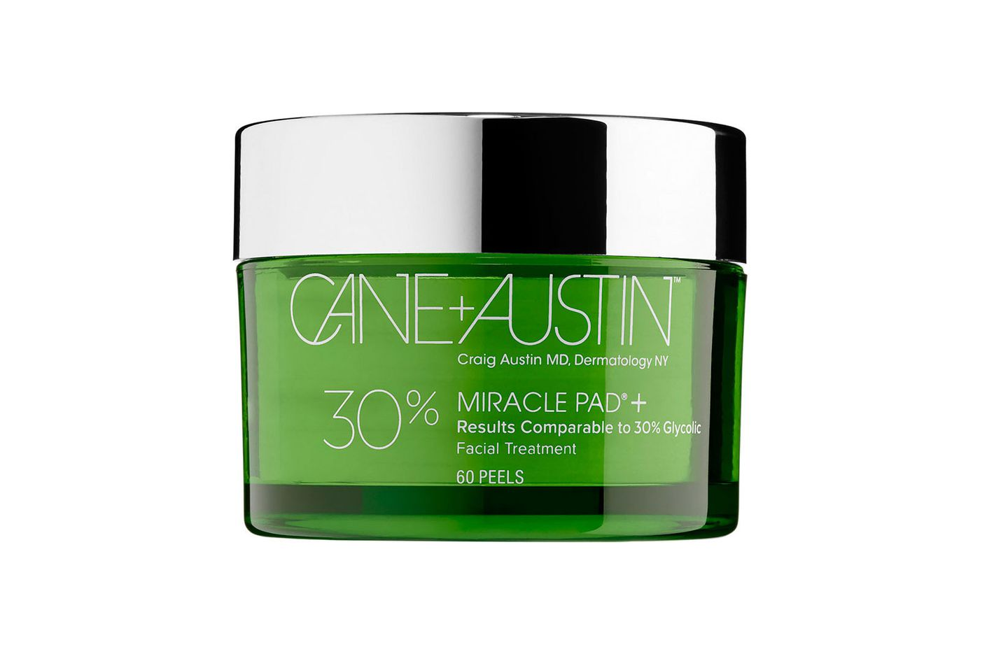 Cane + Austin Miracle Pad + 30% Glycolic Facial Treatment