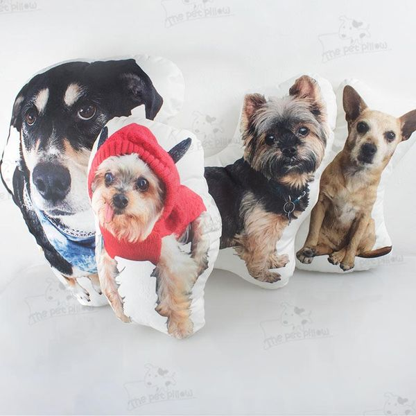 The Pet Pillow Custom Dog Photo Pillow