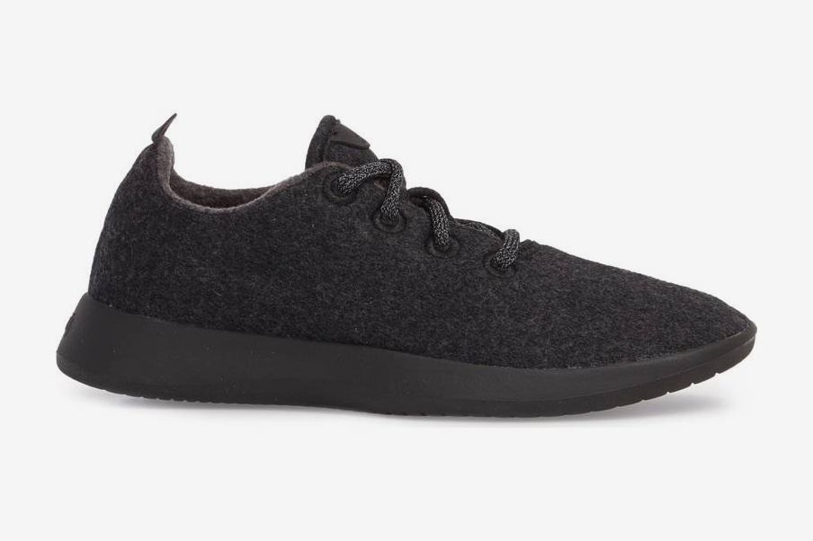 Allbirds Wool Runner in Natural Black