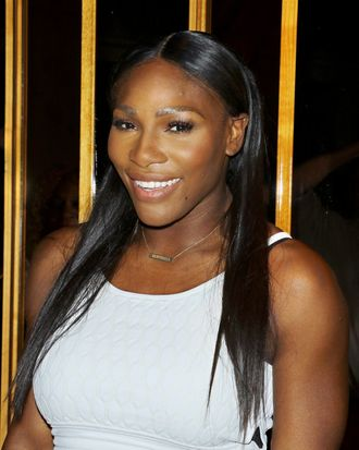 Serena Williams at the Epix New York Premiere of <i>Serena</i>.