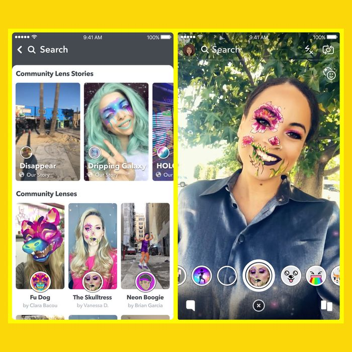 How to make your own snapchat lenses