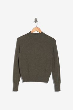 Everlane Cashmere Mock-Neck Sweater