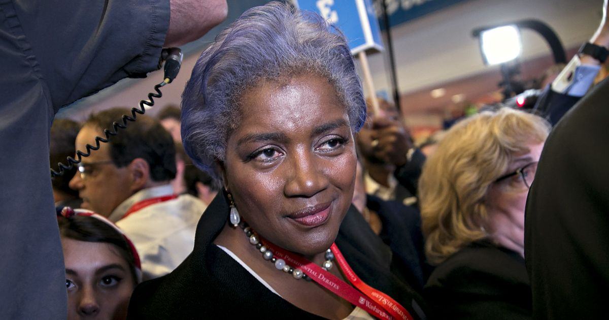 Brazile Says She Considered Replacing Hillary Clinton With Joe Biden in 2016